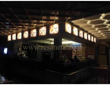 لایت باکس رستوران عبدالهی 3